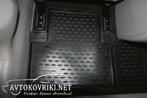 Коврики в салон для Honda Civic Sedan 2012- черные