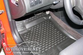 Коврики в салон для Hyundai Coupe 2002-2010 черные