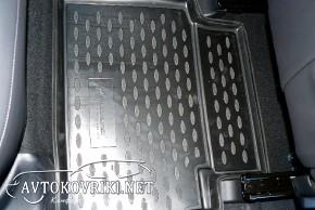 Коврики в салон для Hyundai IX-35 2010- черные