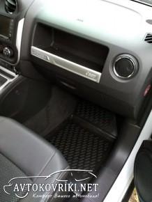 Коврики салон Джип Компасс Compass Новлайн Купить Jeep Compass N