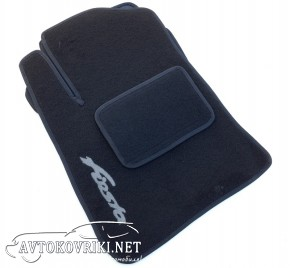Коврики в салон текстильные для Ford Fiesta 2008- черные ML