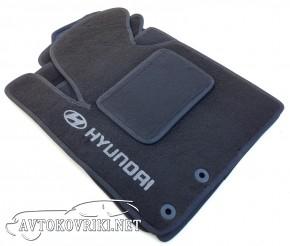 Коврики в салон текстильные для Hyundai IX-35 2010- черные ML