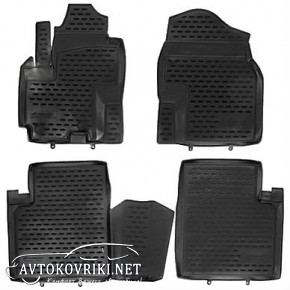 Коврики в салон для Lifan X60 2011- черные