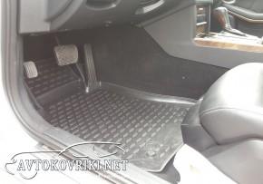 Коврики в салон для Mercedes-Benz E-Class (W212) 2009-2012 черны