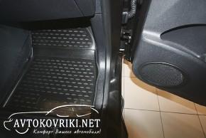 Коврики в салон для Renault Scenic 2009- черные