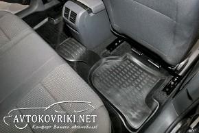 Коврики в салон для Volkswagen Jetta 2005-2010 черные