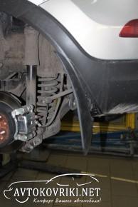 Брызговики для Kia Sportage III 2010- (задние)