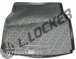 Купить резиновый коврик в багажник Мерседес-Бенц С-Класс (W203)