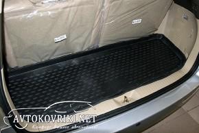Коврик в багажник автомобиля Chery CrossEastar (B14) 2011- полиу