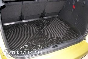 Коврик в багажник автомобиля Citroen C4 Picasso 2007- (confort)