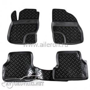 Полиуретановые коврики в салон Ford Focus II 2004-2011 Aileron