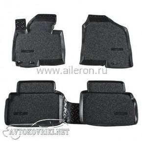 Полиуретановые коврики в салон Hyundai IX-35 2010- (Soft) Ailero