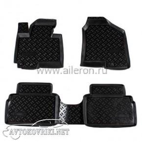 Полиуретановые коврики в салон Hyundai IX-35 2010- Aileron