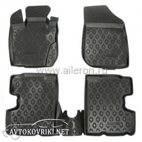 Полиуретановые коврики в салон Renault Duster 4WD 2010- Aileron