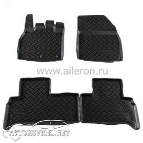 Полиуретановые коврики в салон Renault Scenic 2009- Aileron