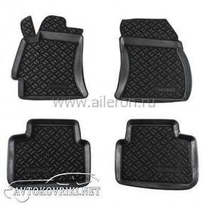 Полиуретановые коврики в салон Subaru Forester 3 2008-2013 Ailer